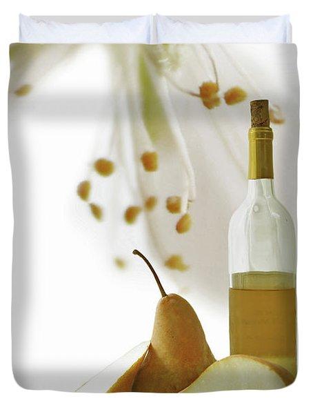Pears Blossom Duvet Cover