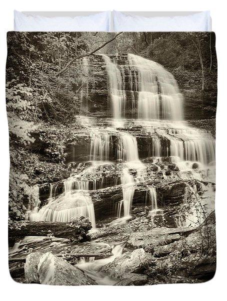 Pearsons Falls Duvet Cover by Joye Ardyn Durham