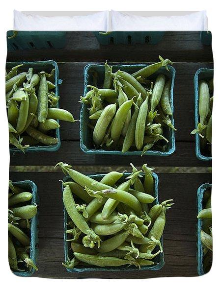 Peas Duvet Cover