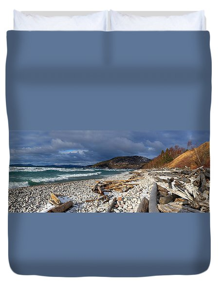 Pebble Beach Duvet Cover