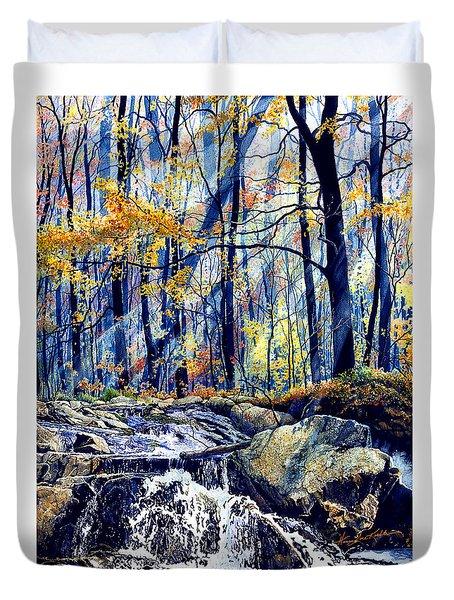 Pebble Creek Autumn Duvet Cover