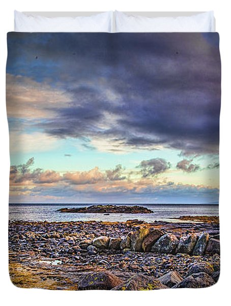 Pebbles And Sky  #h4 Duvet Cover