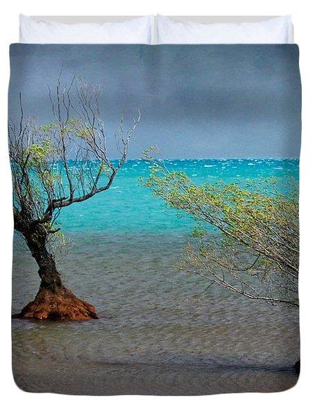Peculiar Trees Duvet Cover