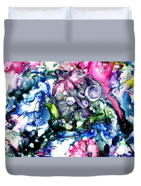 Pedantic - Gigantic - Atlantic   Duvet Cover