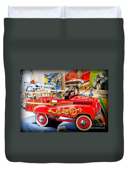 Peddle Car 1 Duvet Cover