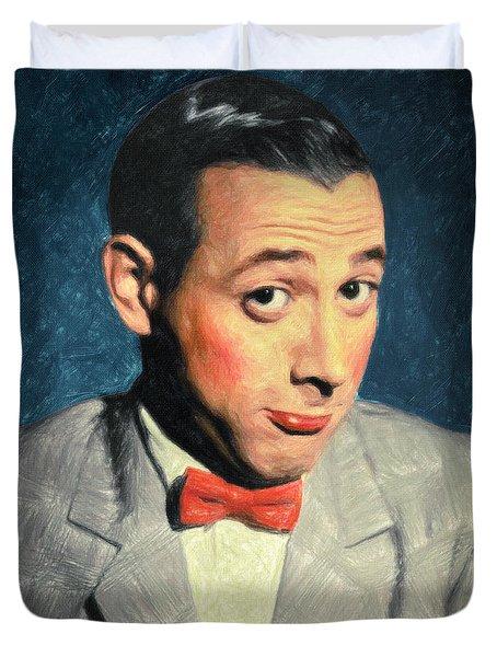 Pee-wee Herman Duvet Cover