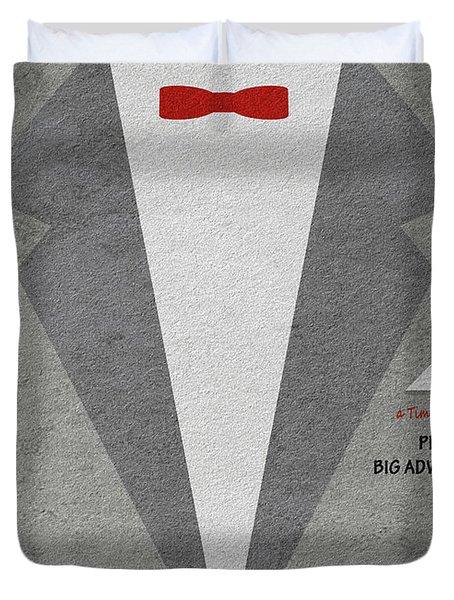 Duvet Cover featuring the digital art Pee-wee's Big Adventure by Ayse Deniz