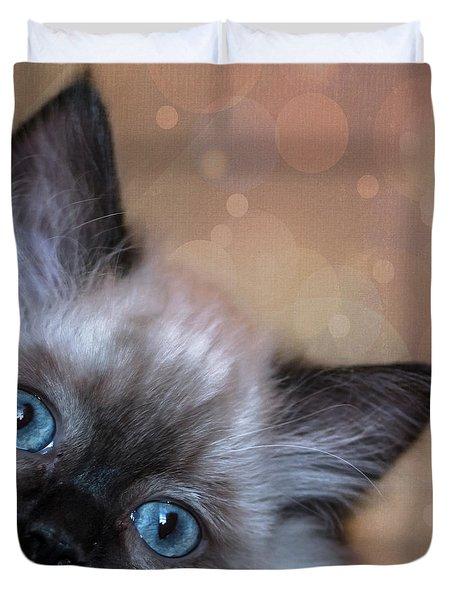 Peek-a-boo 2 Duvet Cover