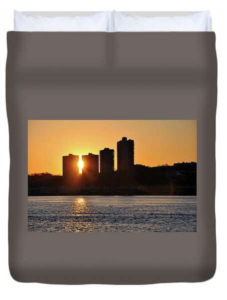 Peekaboo Sunset Duvet Cover