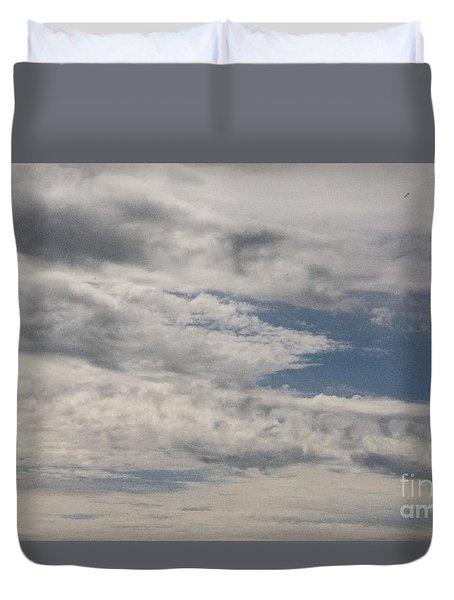 Peeking Sky Duvet Cover