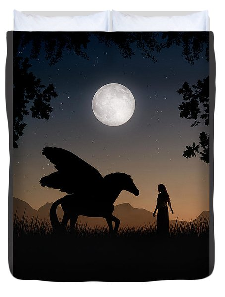 Pegasus Duvet Cover