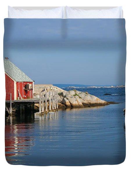Peggys Cove Duvet Cover