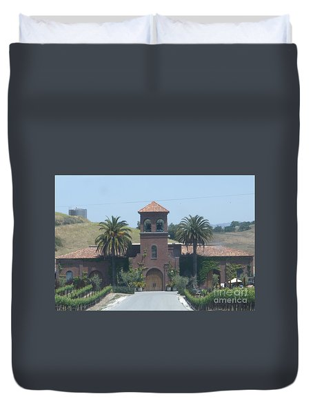 Peitre Santa Winery Duvet Cover