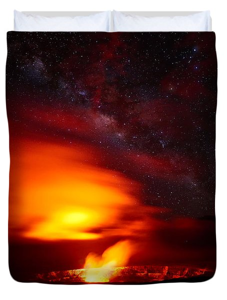 Pele's Mouth Duvet Cover