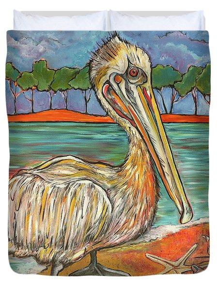 Pelican #2 Duvet Cover