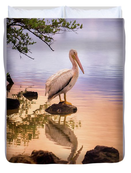 Pelican Connection 2 Duvet Cover