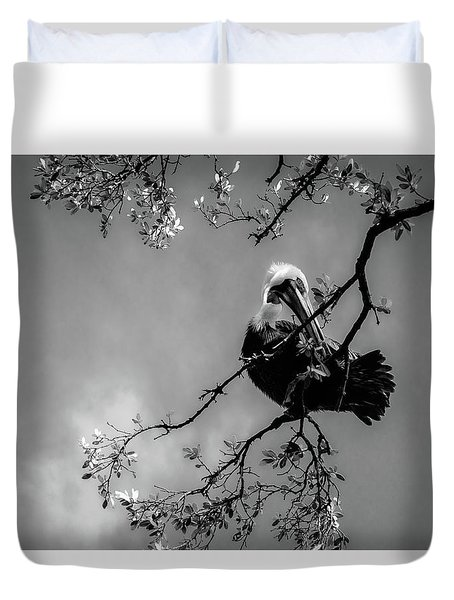 Pelican Connection Duvet Cover