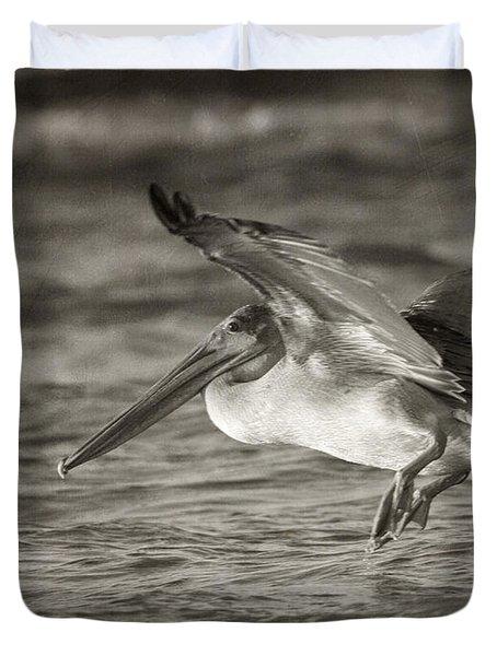 Pelican Glide Duvet Cover