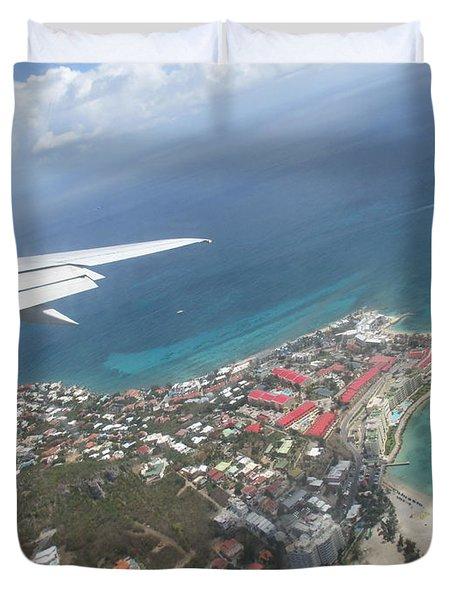 Pelican Key St Maarten Duvet Cover