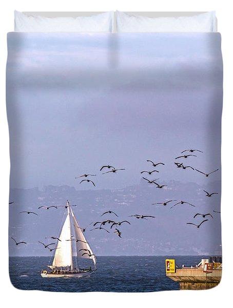 Pelicans Pelicans Duvet Cover