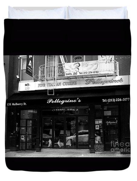 Pellegrino's Duvet Cover by David Bearden
