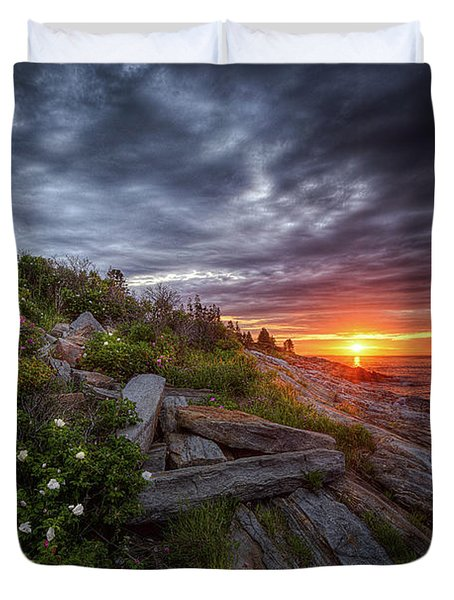 Pemaquid Sunrise Duvet Cover