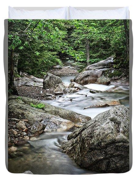 Pemigewasset River Nh Duvet Cover by Michael Hubley