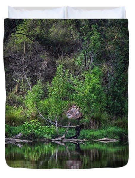 Pena Blanca Lake, Az Duvet Cover