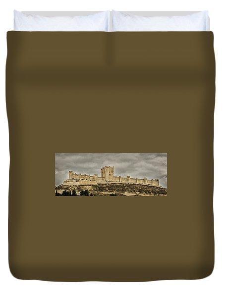 Penafiel Castle, Spain. Duvet Cover