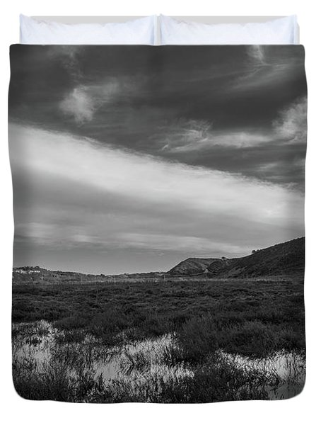 Penasquitos Creek Marsh Duvet Cover
