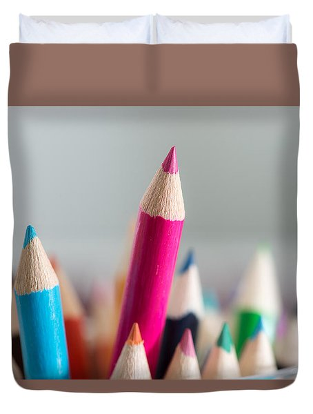 Pencils 4 Duvet Cover
