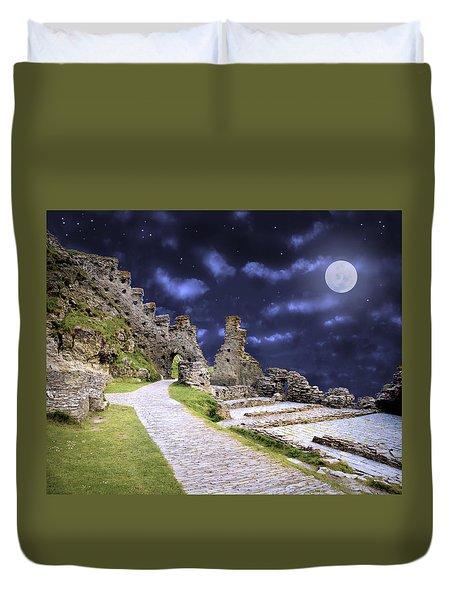 Pendragon Moon Duvet Cover