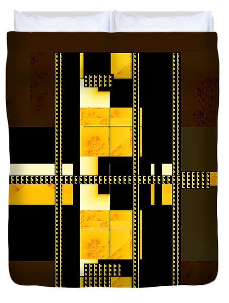 Penman Original-195 Duvet Cover by Andrew Penman