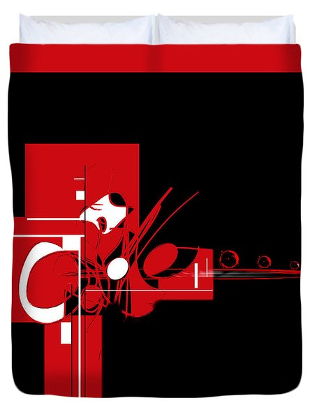 Penman Original-203 Duvet Cover by Andrew Penman