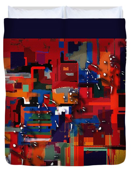 Penman Original-227 Duvet Cover by Andrew Penman
