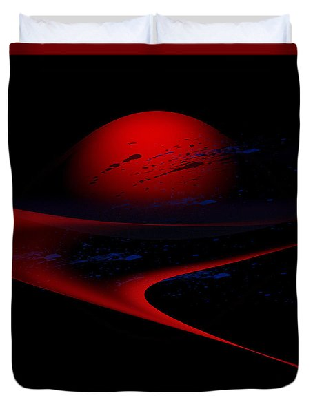 Penman Original-347 Cosmic Curve Duvet Cover