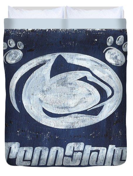 Penn State Duvet Cover by Debbie DeWitt