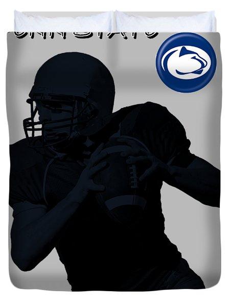 Penn State Football Duvet Cover