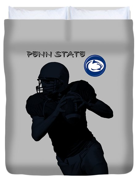 Penn State Football Duvet Cover