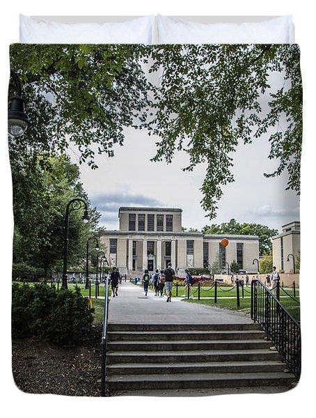 Penn State Library  Duvet Cover