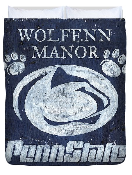 Penn State Personalized Duvet Cover