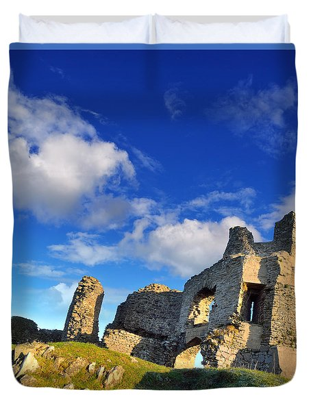 Pennard Castle Duvet Cover