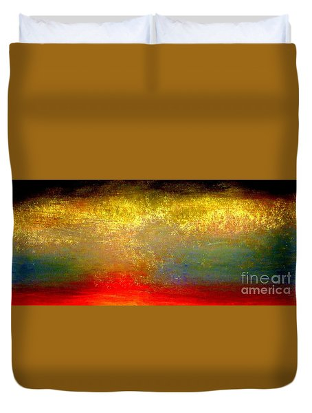 Pennies From Heaven Duvet Cover