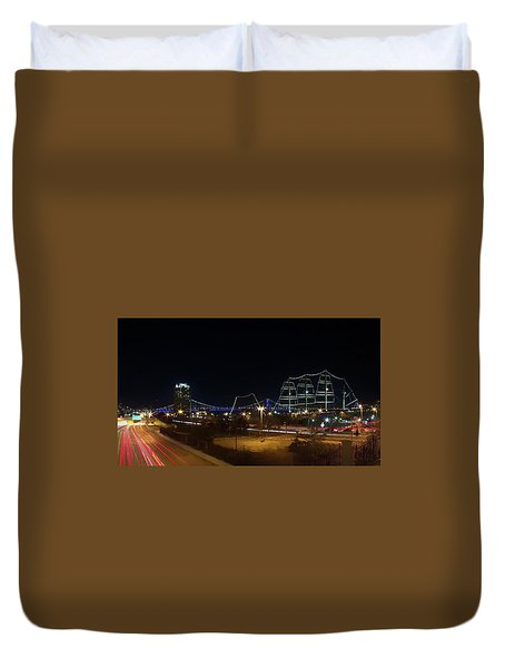 Penn's Landing Duvet Cover