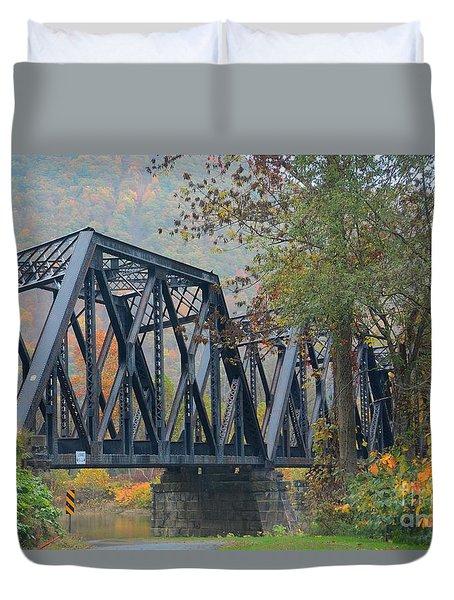 Pennsylvania Bridge Duvet Cover