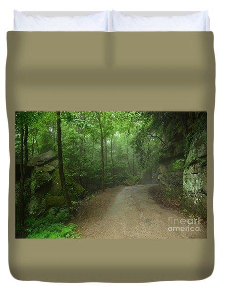 Pennsylvania Mountain Scene - 2 Duvet Cover