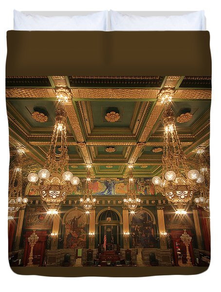 Pennsylvania Senate Chamber Duvet Cover