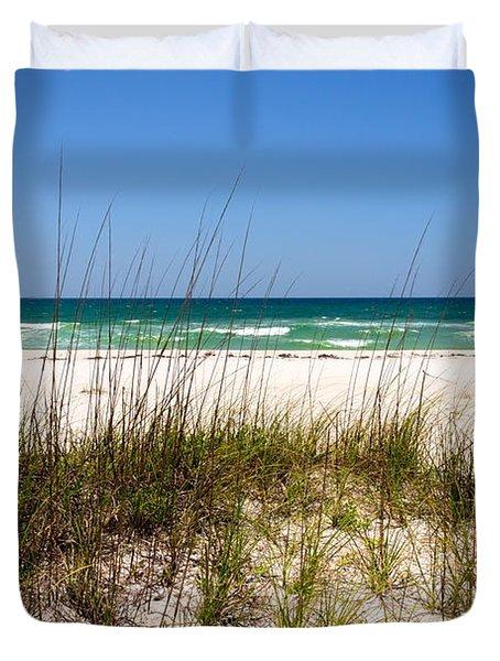 Pensacola Beach 1 - Pensacola Florida Duvet Cover
