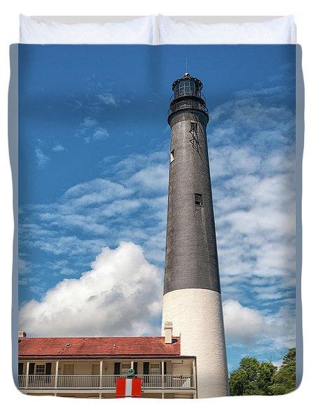 Pensacola Lighthouse Duvet Cover