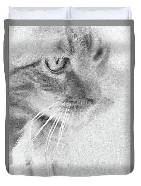 Pensive Duvet Cover